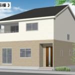 新潟市西区五十嵐中島の新築住宅の写真