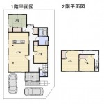 新潟市東区小金台の中古住宅の間取図