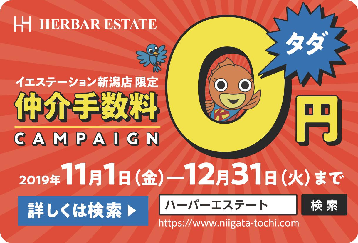 新潟市西区寺尾上の新築住宅のキャンペーン画像