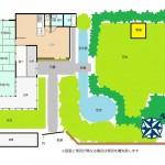 新潟市西蒲区角田浜の中古住宅の間取図