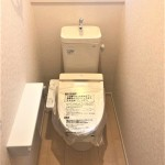 新潟市西区寺尾上の新築住宅のトイレ完成予想図※実際の施工とは多少異なる場合があります。