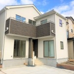 新潟市中央区女池西の新築住宅の写真
