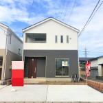 新潟市秋葉区金沢町の新築住宅の写真