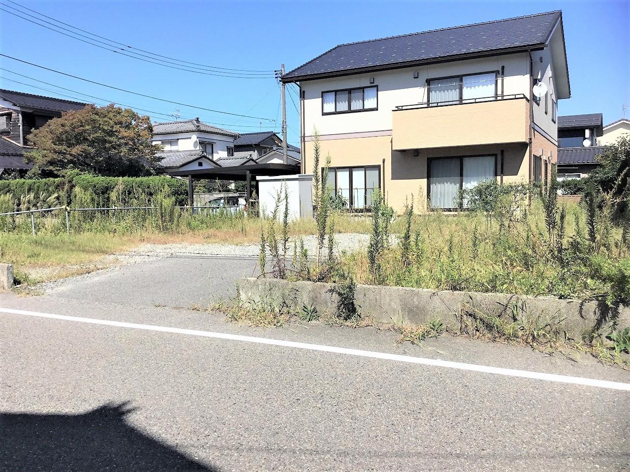 新潟市西区新通西の【土地・分譲地】不動産情報の現地写真