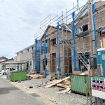 新潟市北区松浜新町の新築住宅1号棟・2号棟の写真