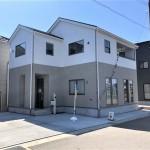 新潟市西区山田の新築住宅1号棟の写真