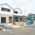新潟市秋葉区金沢町の新築住宅の外観完成予定パース