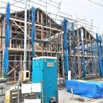 新発田市住吉町の新築住宅の外観完成予定パース