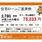新潟市中央区川岸町の中古マンションの住宅ローン返済例