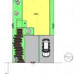 新潟市中央区山二ツの【土地】不動産情報(建物プラン提案付)のセットプラン画像