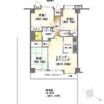 新潟市中央区鐙西の中古住宅の間取図