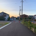 加茂市柳町の土地の写真