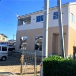 新潟市秋葉区程島の新築住宅の写真