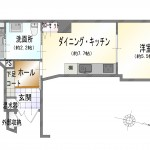 新潟市中央区弁天の中古マンションの間取図