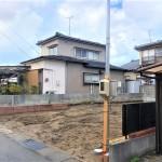 新潟市東区桃山町の新築住宅の写真