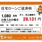 新潟市中央区弁天の中古マンションの住宅ローン返済例