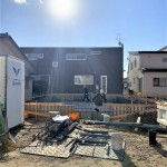 新発田市住吉町の新築住宅の写真