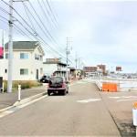 新潟市中央区紫竹山の土地の写真