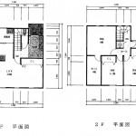 新潟市東区粟山の【新築住宅《B棟》】不動産情報の間取図