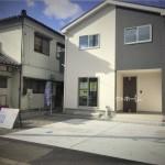 新潟市南区白根東町の新築住宅の写真