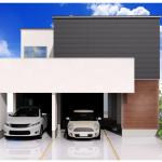 新潟市西区寺尾東の【土地】不動産情報の建物プランの外観パース