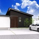 新潟市中央区関屋本村町の土地の建物プラン例(外観パース)