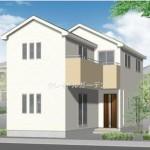 新潟市東区東中島(6号棟)の新築住宅の外観完成予定パース