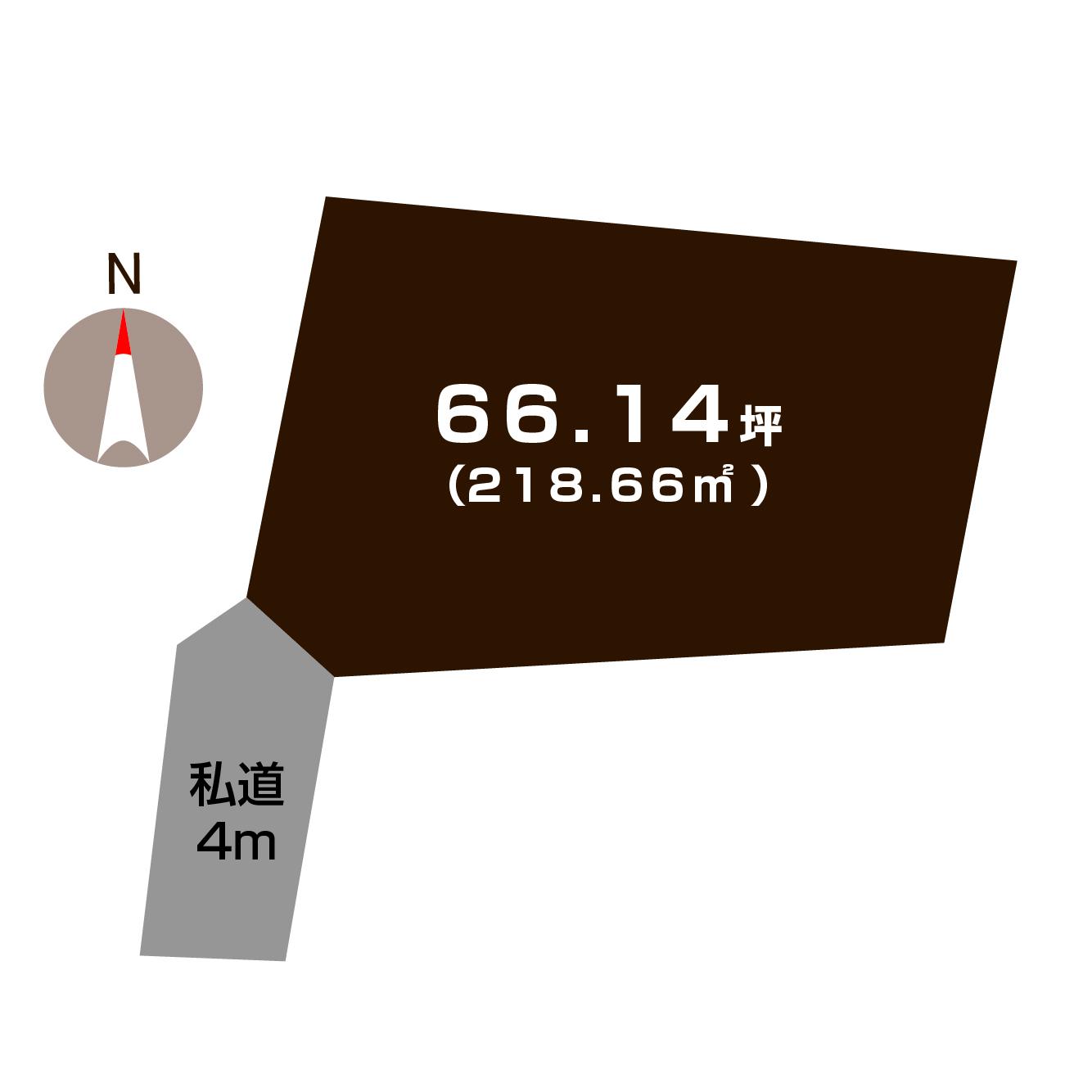 (敷地図)