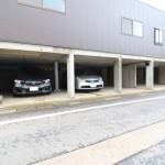 三条市西本成寺の駐車スペース