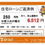 新潟市中央区上所の【中古マンション《上所マンションA棟》】の住宅ローン返済例
