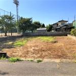新発田市西園町の土地の写真