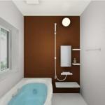 新発田市緑町の中古住宅浴室のイメージパース