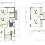 西区寺尾東の中古住宅の間取図