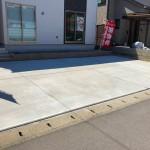 新潟市中央区高志の新築住宅の2号棟外観写真
