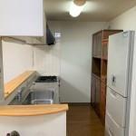 アパシティ東三条駅壱番館のキッチン