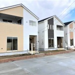 秋葉区金沢町の新築住宅の写真