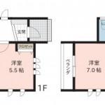 長岡市摂田屋町の新築住宅の間取(間取)