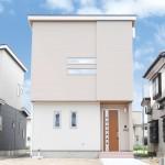 長岡市摂田屋町の新築住宅の外観パース