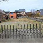 新発田市御幸町3丁目の土地の写真