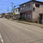 中央区関屋田町3丁目の土地の写真