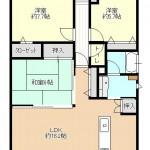 プレミア燕三条のマンションの間取図