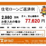 新潟市中央区山二ツの【新築住宅《全2号棟》】不動産情報の返済例