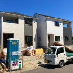 新潟市中央区山二ツの新築住宅の写真