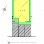 新潟市中央区京王の土地の建物プラン例の配置図