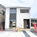 新潟市北区三軒屋町の新築住宅1号棟の外観完成予定パース