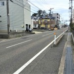 新潟市西区寺尾朝日通の土地の写真