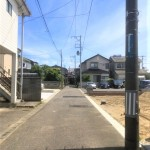 新潟市東区石山の新築住宅の写真