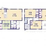 東区豊の新築住宅の4号棟間取図