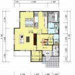 新潟市中央区鳥屋野の【土地】不動産情報の建物プラン例(1階平面図)