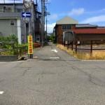 新潟市西蒲区巻甲の土地の写真(南側)